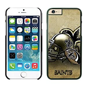New Orleans Saints Case For iPhone 6 Black 4.7 inches