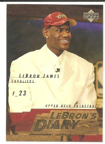 LeBron 2003 04 Upper Deck LeBrons