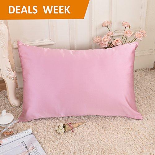 Silky Satin Pillowcase for Hair/Skin Protection-Stain/Wrinkl