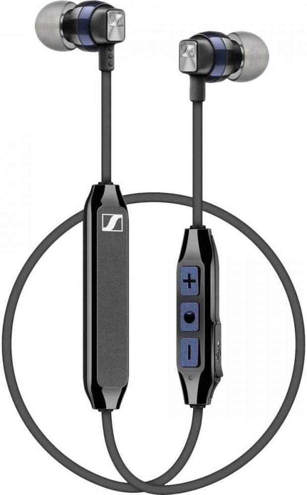 Sennheiser CX 6.00BT - Auriculares inalámbricos intraurales, color negro y azul