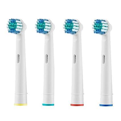 Pack 4 recambios para cepillos Oral-B