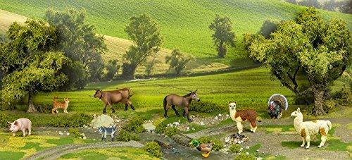 Pavo 6 cm serie granja Safari Ltd 242929
