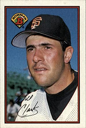 Amazoncom 1989 Bowman Baseball Card 476 Will Clark Mint