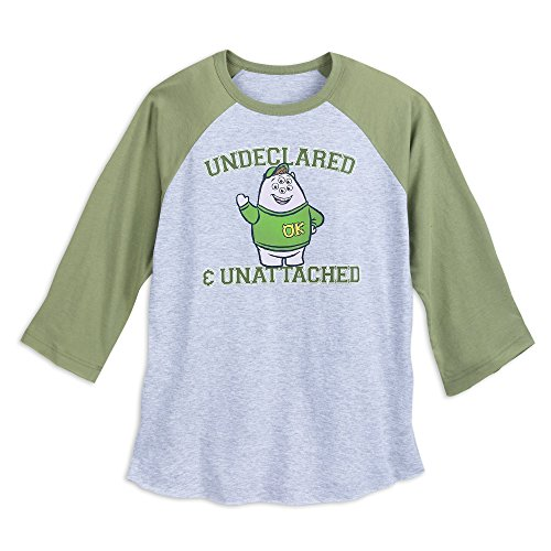 Disney Squishy ''Undeclared & Unattached'' T-Shirt for Adults - Monsters University Size Mens L Green -