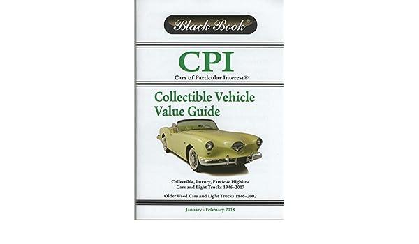 Black Book Car >> Black Book Cpi Car S Of Particular Interest January