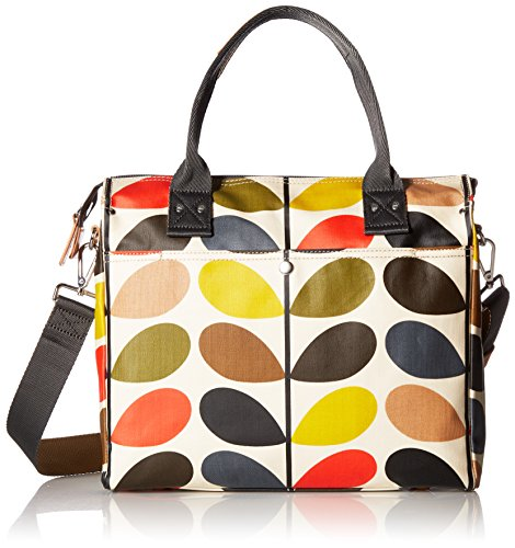 Orla Kiely Multi Stem Zip Messenger Shoulder Bag, Multi, One Size