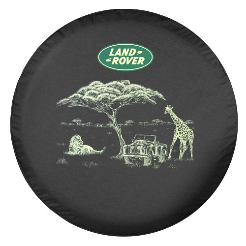 Land Cover - Land Rover Tire Cover - Safari
