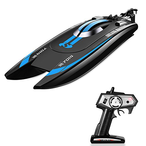 Tobeape Remote Control Boat for Pool & Outdoor Use, RC Racing Boat with Remote Control, High-Speed Series RC Boats for Adults & (High Speed Series)