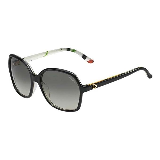Gucci Gafas de Sol 3632/N/S VK Z96 (57 mm) Negro: Amazon.es ...
