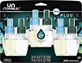 Plug in Air Fresheners, Unstopables Fresh, Odor Eliminator, Scented Oil Refill, 3 Count, 1 Set of 3 Count