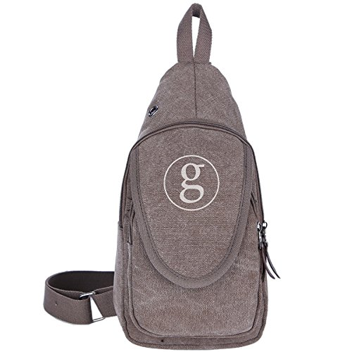 Brown Garth Brooks Logo Casual Canvas Shoulder Bag For Bicycle - Garth Brooks Central Park Dvd