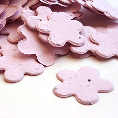 Shower Favor Seeds Baby (Pink 5 Petal Plantable Seed Confetti (Approx. 350 pieces))