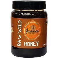 Graminway Organic Raw Wild Honey, Organic Honey, Pure raw wild honey, 100% natural: 350gm