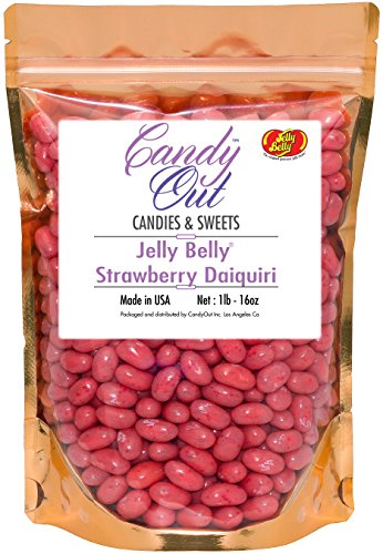 CandyOut Jelly Belly Strawberry Daiquiri 1lb - 16oz in resea