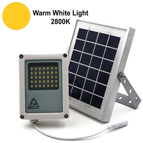 HEX 30X Twin Solar Spotlight Warm White LED for Outdoor Garden Yard Landscape Downlight Solar Light Mart