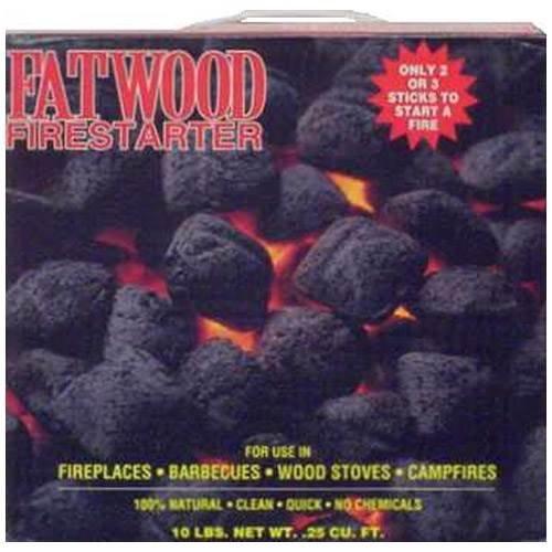 Starters Uniflame Fire - Uniflame 10 LB. Fatwood Firestarter in Colored Carton