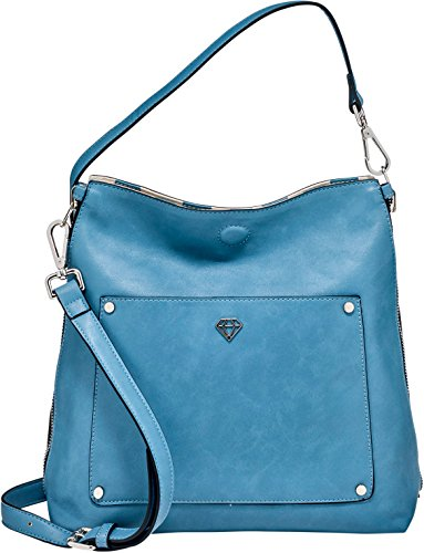 Bag Woman Shoulder Plastic Caleidos For Turquoise wHqTgnwCpx