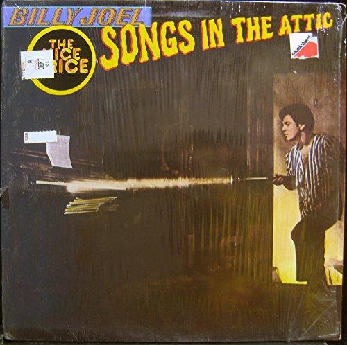 BILLY JOEL SONGS IN THE ATTIC vinyl record (Attic Songs In Joel The)