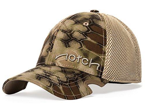 Notch Fitted Cap Highlander - Cap Stretch Camo