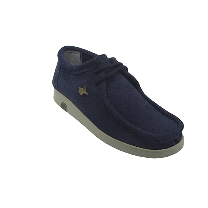 700 - Wallabees azul marino (45)