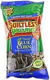 Guiltless Gourmet Tortilla Chips, Blue Corn, 7 Ounce (Pack of 12)