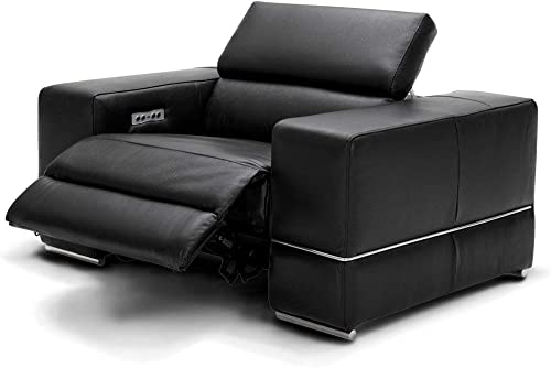 Zuri Furniture Modern Luxor Reclining Chair