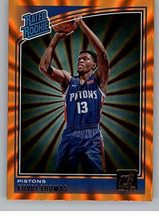 sports shoes 54f25 16b8c Amazon.com: 2018-19 Donruss Holo Orange Laser Basketball ...