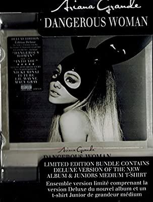 Ariana Grande- Dangerous Woman (deluxe/with Juniors Medium T-shirt/advisory)- Cd