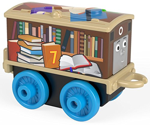 Back To School Library Book Case Toby - Thomas & Friends MINIS Blind Bag Single Train (Single Library Bookcase)