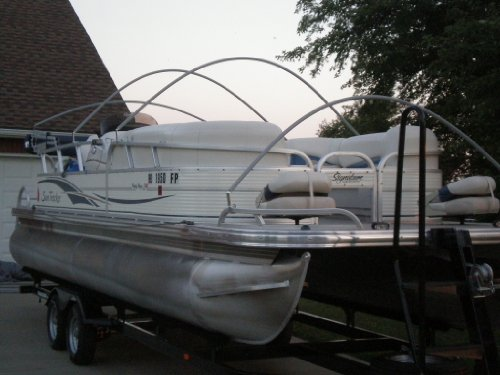Arnall S Laser Arch Support System For Pontoon Covers 5