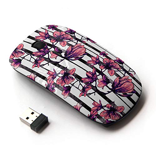 Planetar Wireless 2.4G Computer Laptop Mouse Mice/Delicate Orchid Flower ()