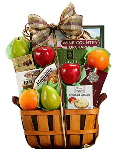 Wine Country Gift Baskets Fruit and Favorites