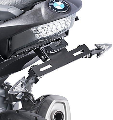 /éclairage pour BMW C 600 Sport 12-15 noir Puig 6061n Support de Plaque
