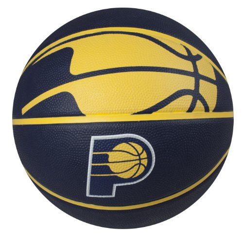 fan products of Spalding NBA Indiana Pacers Courtside Rubber Basketball