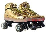 Pulse Skates Roller Skates Gold Size 2