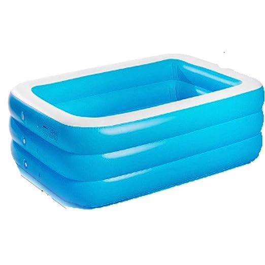Piscina para niños bebé espesante Inflable Parque acuático ...