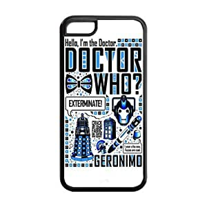 Lmf DIY phone caseiphone 5c Phone Cases, Dr.Who Quotes Hard Cover Case for iphone 5c Designed by HnW AccessoriesLmf DIY phone case