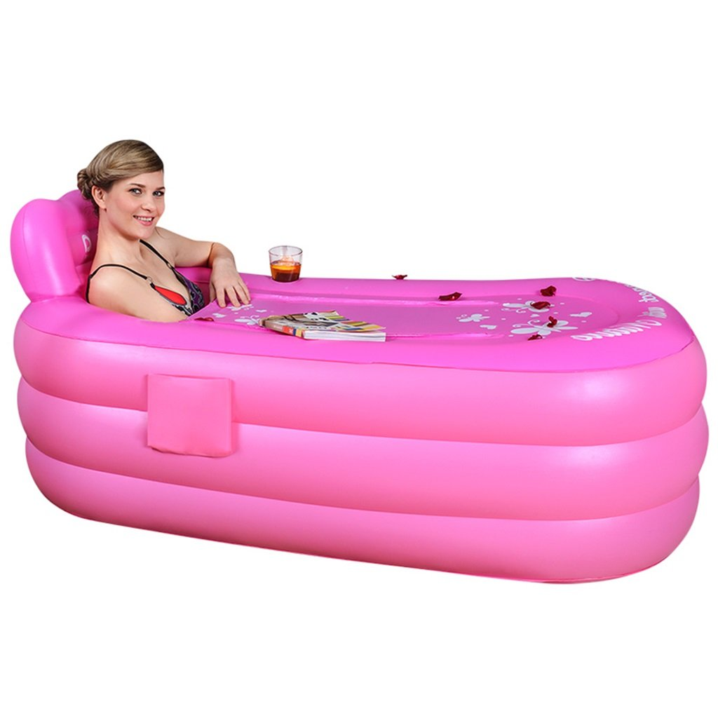 Bathtub PHTW HTZ Bañera Piscina De Baño Inflable Ovalada De Color ...