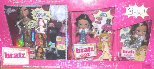 Bratz Yasmin Movie Star Yasmin Grows Up - 3-in-1 Doll and Accessory (Movie Star Doll)