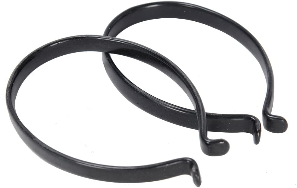 Pair Bicycle pants clips Steel Leg Bands Pant Clips Bicycle Bike NEW