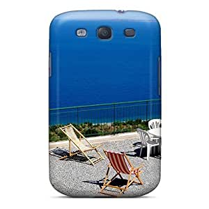 Cute Appearance Cover/PC Beautiful Vacation Spot For Case HTC One M7 Cover