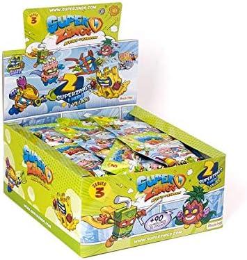 Magic Box SuperZings 3 saszetka z dwiema figurkami (Duo Pack) [FIGURKA]: Amazon.es: Juguetes y juegos