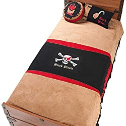 Cilek 21.04.4479.00 Pirate Comforter Set, Twin, Brown