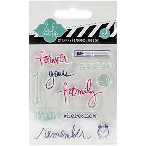 Heidi Swapp 01131 Mini Stamp, (Halloween Clear Mini Stamps)