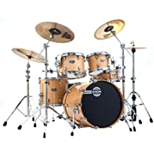 Dixon Blaze PODBZ522N 5-Piece Drum Set, Gloss Natural