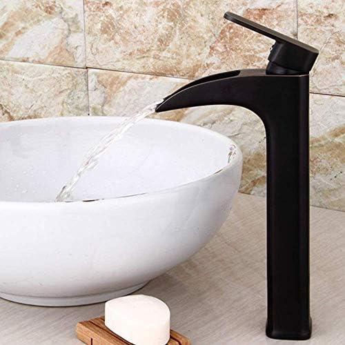 ZT-TTHG 流域の蛇口の銅流域の蛇口ヨーロッパのレトロ洗面盆地アンティークORBブラック滝の蛇口バスルームにはバスルームタップをタップ