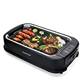 Best Indoor Grills - Techwood Electric Smokeless Grill, Indoor/Outdoor Power BBQ Grill Review