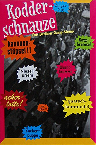 Kodder-nariz - Berlín argot Memo: Amazon.es: Juguetes y juegos