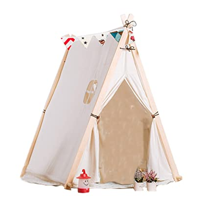 Image Unavailable  sc 1 st  Amazon.com & Amazon.com: YHJM Small Fresh Cotton Tent Baby Childrenu0027s Toy Cloth ...
