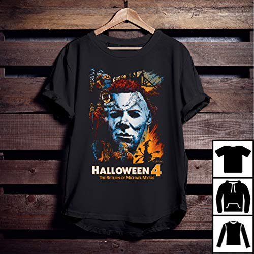 Halloween 4 The Return Of Michael Myers Film T-Shirt -